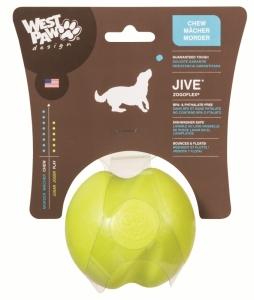 Zogoflex Jive L - отскачаща топка за кучета, които обичат да гонят и хващат, 8 см. / синя, зелена, оранжева / 1
