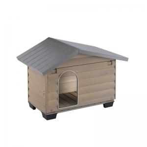 Ferplast Canada 2 - дървена къща за куче, 78 / 57 / 62 cm 1