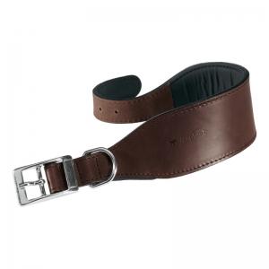 Ferplast Vip CW 25/46 Brown Collar - кожен нашийник/широк/ за кучета с обиколка на врата 40-46 см. 1