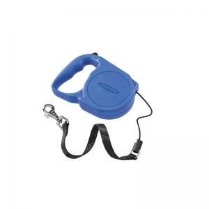 Ferplast Flippy Regular Medium Blue - автоматичен повод 5 метра за кучета до 25 кг. /въже/ 14,5 / 10 / 3,2 cm 1