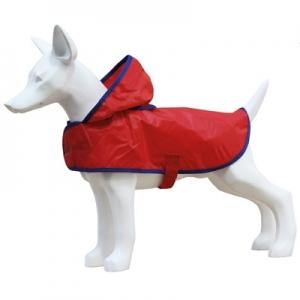 Freedog Impermeable Basic Rojo - дъждобран за кучета, цвят червен