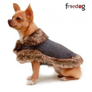 Freedog Dama Coat- дрешка за кучета, сив свят