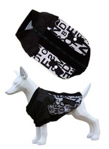 Freedog Chaqueta Alphabet- дрешка за кучета, черно- бял цвят