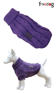 Freedog Nature Levanda - пуловер за кучета, Светло лилаво-лавандула