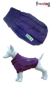 Freedog Nature Lilla - пуловер за кучета, Лилаво-люляк