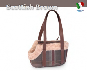 Camon Транспортна чанта за малки кученца - Scottish Rose