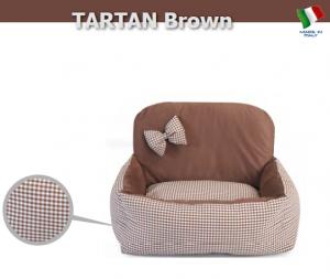 Camon Луксозно кучешко легло Auto Brown