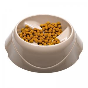 Ferplast Magnus Slow Large - купичка за хранене на лакоми кучета- 30 / 28 / 14 см., 1500 мл., бежова 1