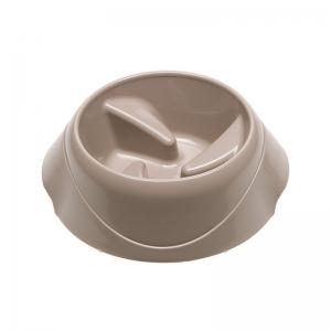 Ferplast Magnus Slow Small - купичка за хранене на лакоми кучета- 21.7 / 20.5 / 10 см., 500 мл., бежова 1