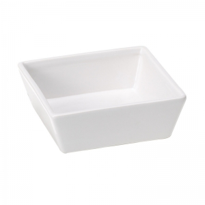 Ferplast Altair 14 - керамична купичка за кучета и котки, 14 / 14 / 5 см., 0.5 л., бяла