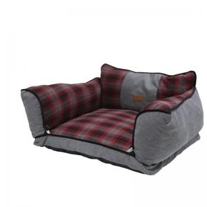 Croci Duvanetto Rettangolare Red Chess- легло за кучета 70/55/30 см. 1