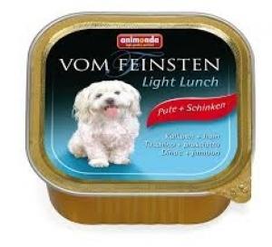 Animonda Vom Feinsten Light Lunch Turkey Ham - пастет за кучета с наднормено тегло, с пилешко месо и шунка, 150 гр.