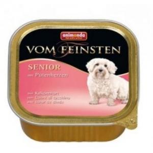 Animonda Von Feinsten Senior Turkey Hearts - пастет за кучета с пуешки сърца, 150 гр.