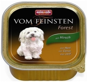 Animonda Vom Feinsten Forest Hert - пастет за кучета с еленово месо, 150 гр.