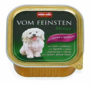 Animonda Vom Feinsten Menue with Lamb Whole Grain - пастет за кучета с агнешко месо, 150 гр.