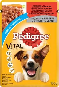 Pedigree Pouch Beef Carrots - Пауч с говеждо и моркови