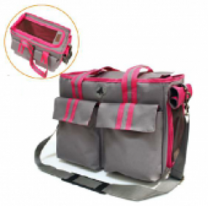 """Croci Транспортна чанта за кучета """"Изабела"""" - сива"""