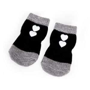 Camon Чорапки за кучета - черни, размер XXL