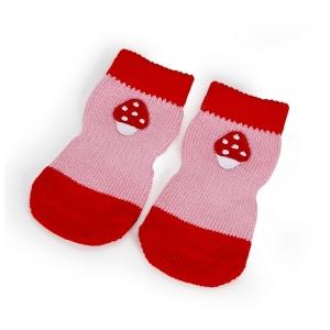 Camon Чорапки за кучета - розови, размер XL