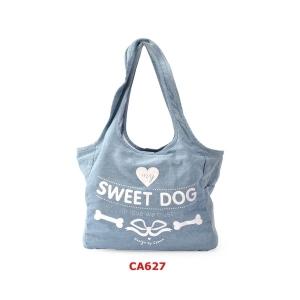Camon Транспортна чанта за малки кученца - деним