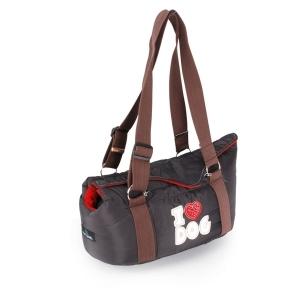 Camon Love dog транспортна чанта за малки кученца - черна