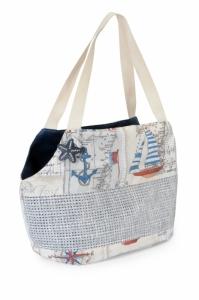 Camon Balear транспортна чанта за малки кученца - бяла