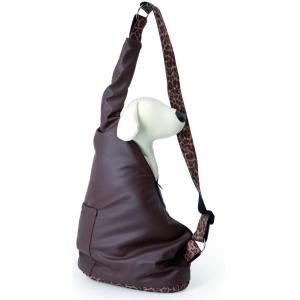 Camon Транспортна чанта за малки кученца - кафява