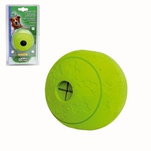 Camon Играчка за кучета - топка за лакомства - зелена ябълка
