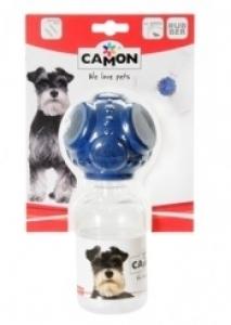 Camon Гумена играчка за кучета - топка с бутилка