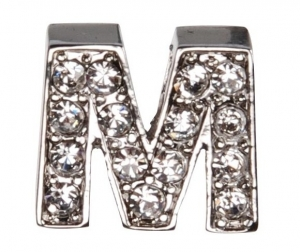 Camon Декоративна буква с брилянти - M