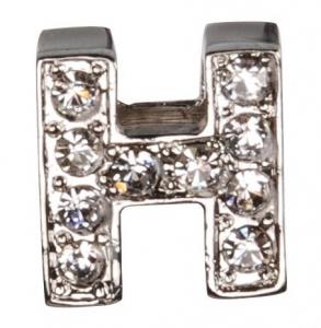 Camon Декоративна буква с брилянти - H