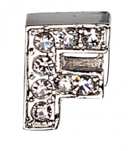 Camon Декоративна буква с брилянти - F