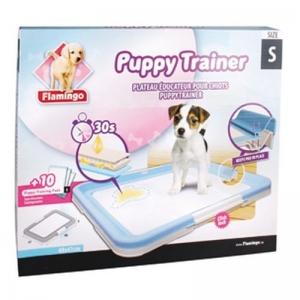 Karlie/Flamingo Puppy Trainer S Хигиенен комплект - малък, 47.5/34.5/4.5см + 10бр подложки
