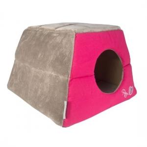 Rogz Igloo Podz иглу за котки и кучета - розово 1