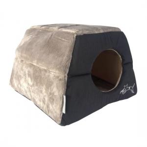 Rogz Igloo Podz иглу за котки и кучета - черно 1