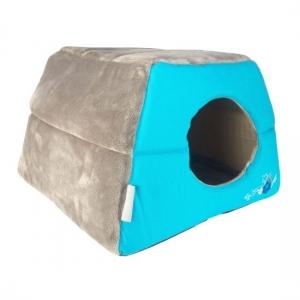 Rogz Igloo Podz иглу за котки и кучета - синьо 1