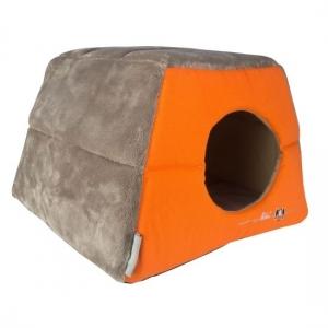 Rogz Igloo Podz иглу за котки и кучета - оранжево 1