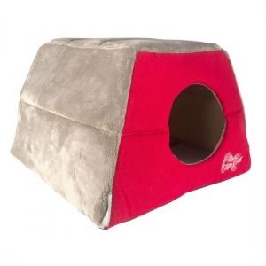 Rogz Igloo Podz иглу за котки и кучета - червено 1