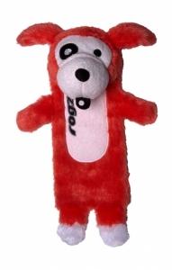 Rogz Thinz плюшен чорап - червен, голям 1
