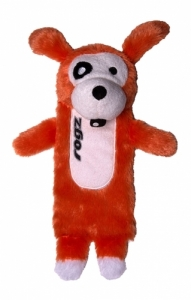 Rogz Thinz плюшен чорап - оранжев, голям 1