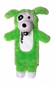 Rogz Thinz плюшен чорап - зелен, голям 1