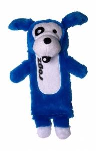 Rogz Thinz плюшен чорап - син, голям 1
