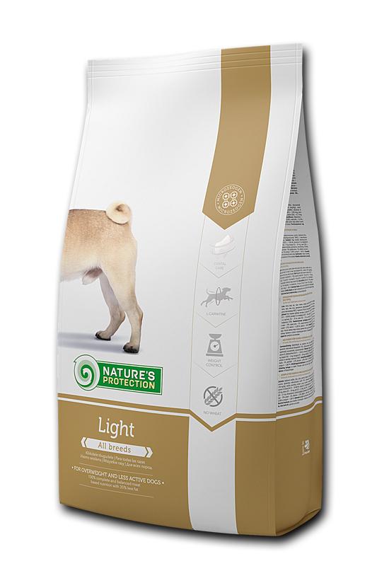 Light - Пълноценна храна за израснали кучета от всички породи 4 кг
