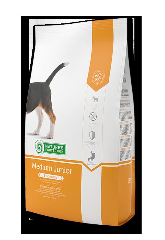 Medium Junior - За подрастващи кученца от средните породи 2 кг