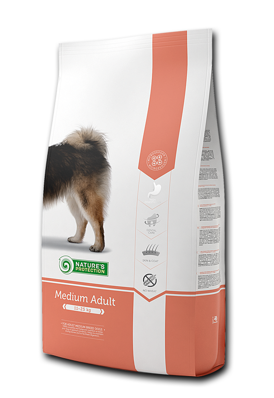 Medium Adult - За оптимална поддръжка на израстналите кучета от средните породи 4 кг
