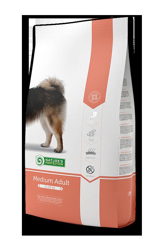 Medium Adult - За оптимална поддръжка на израстналите кучета от средните породи 12 кг