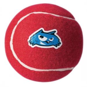 Rogz Molecule Ball тенис топка за дъвчене - червена, голяма