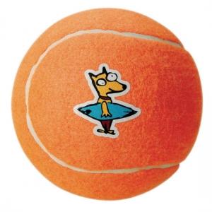 Rogz Molecule Ball тенис топка за дъвчене - оранжева, голяма