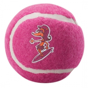 Rogz Molecule Ball тенис топка за дъвчене - розова, голяма