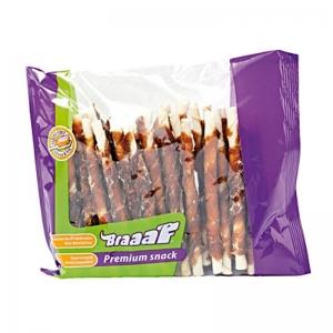Braaf Солети от телешка кожа и патешко месо - 30 броя, 12 см 1